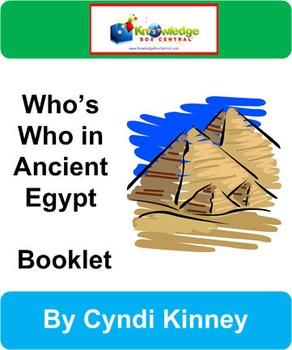 Who's Who in Ancient Egypt Booklet