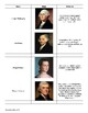 Who's Who from Washington to Jefferson: Reference Sheet an