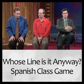 """""""Whose Line is it Anyway"""" (¿De quién es esta frase?) Spani"""