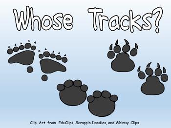 Whose Tracks?- Shared Reading- Kindergarten Science- Anima