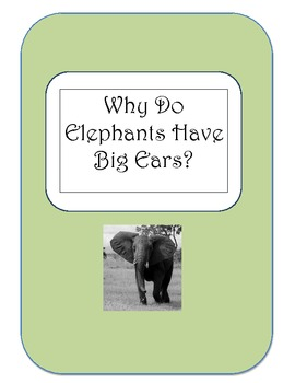 Why Elephants Have Big Ears-A Look at the Ratio of Similitude
