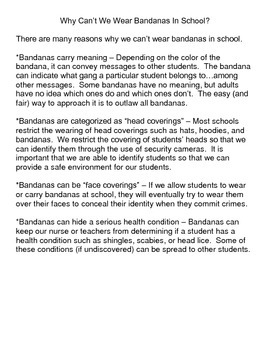 Why Is Our School's Dress Code So Strict?