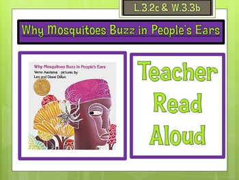 Dialogue Lesson: Why Mosquitoes Buzz in People's Ears by V