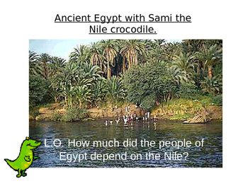 Why the Nile was important to the Ancient Egyptians