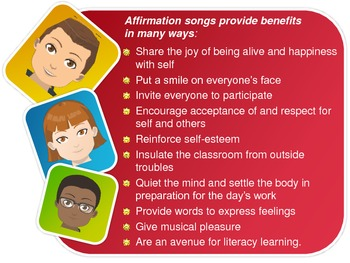 Why use affirmation songs