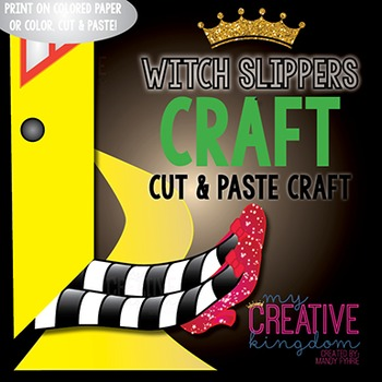 Wicked Witch Legs with Ruby Slippers Wizard of Oz Craft