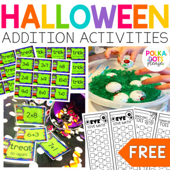 Wickedly Wonderful Halloween Math Centers