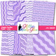 Lilac Wiggle Doodle Paper {Scrapbook Backgrounds for Task