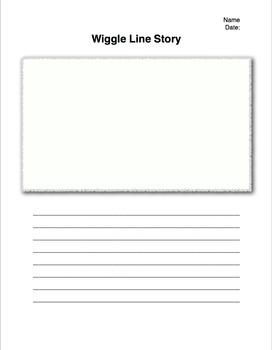 Wiggle Line Story Template