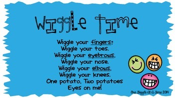 Wiggle Time Attention Grabber