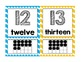 Wiggly Numbers - Classroom Number Posters (0-20)