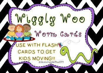 Wiggly Woo! {Flash card and picture card game} GET YOUR KI
