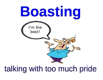 Wilbur's Boast Vocabulary Cards