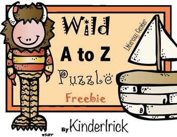 Wild Things A to Z Puzzle Literacy Center
