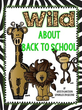 Wild About Back To School