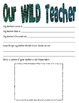 Wild About Learning Back to School Packet