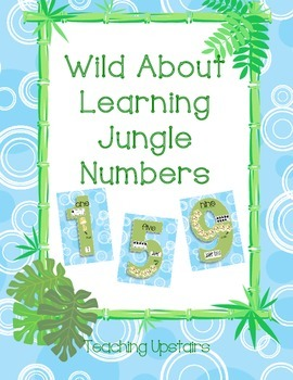 Wild About Learning: Number Posters
