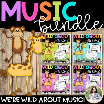 Wild About Music BUNDLE: All Four Sets