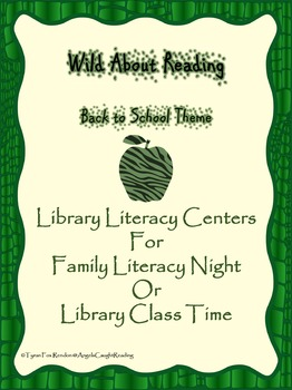 Wild About Reading: Back to School Theme