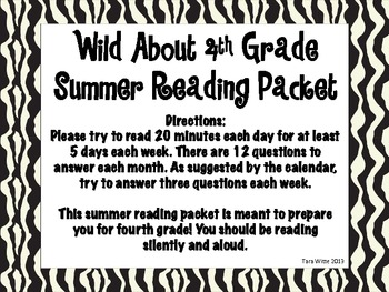 Wild About Summer Reading