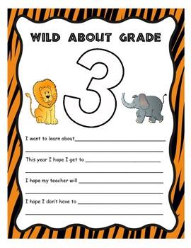 Wild About Third Grade