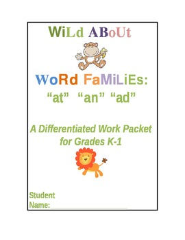 Wild About Word Families!
