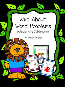 Wild About Word Problems Booklets