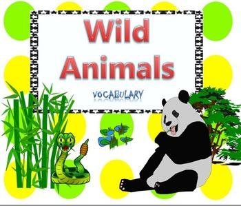 Wild Animals Essential Vocabulary Through Fun Activities