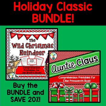 Wild Christmas Reindeer & Auntie Claus BUNDLE