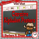 CURSIVE ALPHABET: Wild West Edition