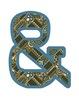 Wild West - Western Themed Cowgirl Plaid Alphabet Graphic Set