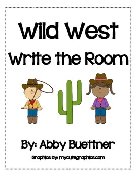 Wild West Write the Room