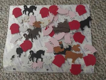 Wild West and Farm Stickers