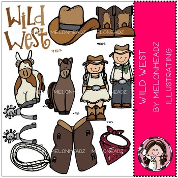 Wild West by Melonheadz COMBO PACK