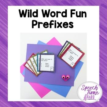 Wild Word Fun Prefixes