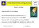 Wilkie Way Rich Learning Problems Set 1