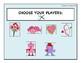 Will You Be My Valentine? Customizable Board Game SLP Arti
