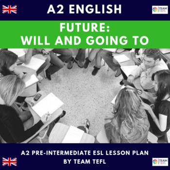 Will and Going to A2 Pre-Intermediate Lesson Plan For ESL