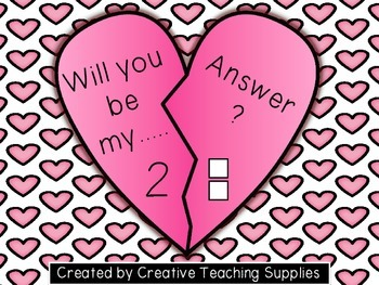 Will you be my .... Answer? Number to 10 - Sample Freebie