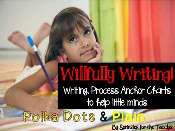 Willfully Writing Process Anchor Charts