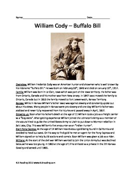 William Cody Buffalo Bill Information Facts History Questi