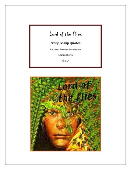 William Golding's Lord of the Flies Story Gossip Quotes In