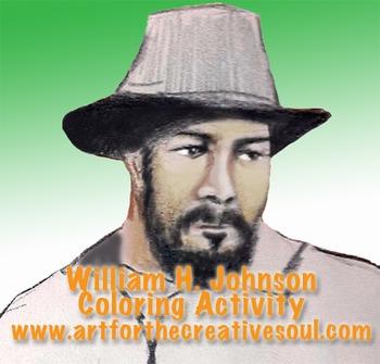 William Johnson Coloring Activity