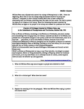 William Penn Document Bell Ringer