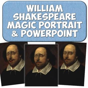 William Shakespeare Magic Portrait Video & PowerPoint for