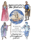 William Shakespeare's, The Tempest Clipart Package