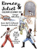 William Shakespeare's, Romeo and Juliet Clip Art Package