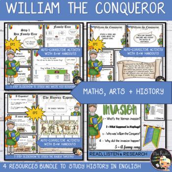 William the Conqueror ESL-EFL Bundle