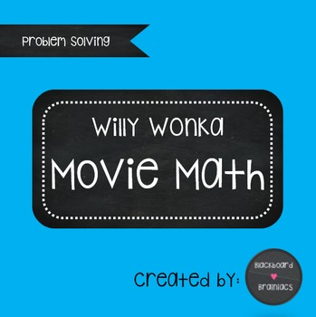 Willy Wonka Movie Math Questions