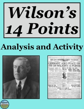Wilson's 14 Points Primary Source Analysis and Activity